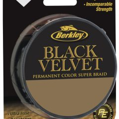 Berkley Black Velvet Dynema